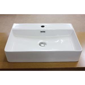 洗面ボウル 陶器 洗面ボール 角型手洗器 手洗い鉢  小型 洗面器|obara-jyusetu