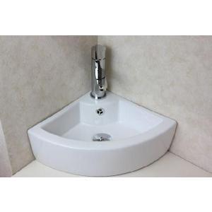 陶器洗面ボウル  洗面ボール 手洗い鉢 手洗い器 小さい 洗面器 コーナー設置|obara-jyusetu