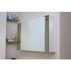 洗面ミラーキャビネット 洗面所 収納 1面鏡|obara-jyusetu