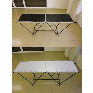 作業台 折りたたみ テーブル ワークテーブル 万能作業台 折りたたみ作業台 幅2000×600|obara-jyusetu