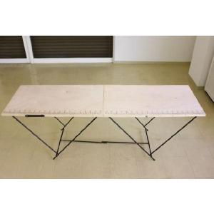 作業台 折りたたみ テーブル ワークテーブル 万能作業台 折りたたみ作業台 幅1990×580|obara-jyusetu