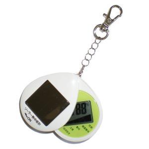日本気象協会監修 携帯型ソーラー熱中症計 熱中症対策商品|obari