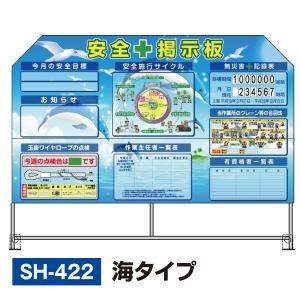 折りたたみ式の安全掲示板 パットサイン<海タイプ>|obari