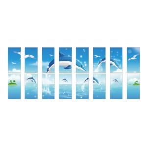 ウォールサイン マグネットタイプ 16枚セット WM-820|obari