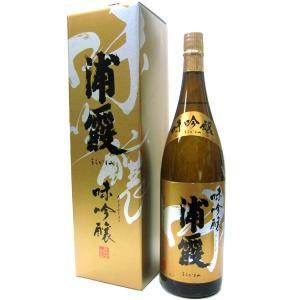 浦霞 味吟醸 1800ml|obasaketen