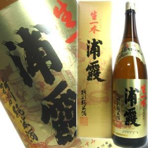 浦霞 生一本ササニシキ特別純米酒 1800ml