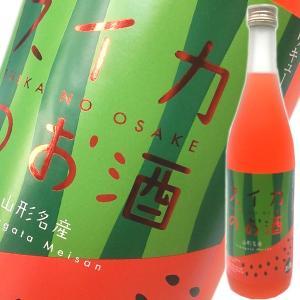 六歌仙 スイカのお酒 720ml (山形県産)|obasaketen
