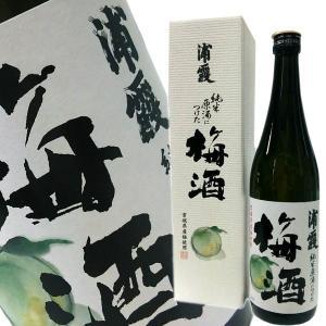 浦霞の梅酒 (純米原酒仕込み) 720ml|obasaketen