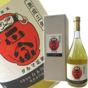 達磨正宗 3年古酒 720ml (岐阜県産日本酒)|obasaketen
