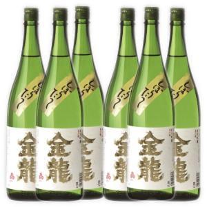 一ノ蔵 金龍 純米吟醸しぼりたて生原酒 1800ml×6本|obasaketen