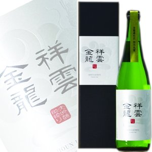 (数量限定)一ノ蔵 金龍 大吟醸 掛搾り 720ml|obasaketen