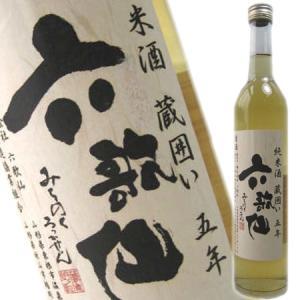 六歌仙 純米酒 蔵囲い五年500ml(日本酒 山形県産地酒)|obasaketen