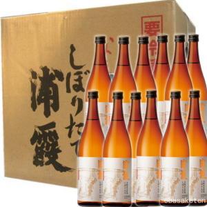 浦霞 しぼりたて 本醸造 生酒 720ml×12本