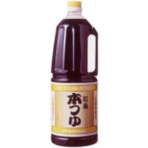 和風 本つゆ1800ml入りペット(宮城県産 鎌田味噌醤油)|obasaketen