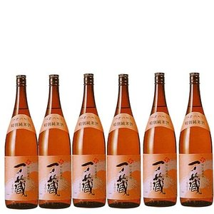 一ノ蔵特別純米酒 (甘口) 1800ml 6本入り 送料無料 |obasaketen