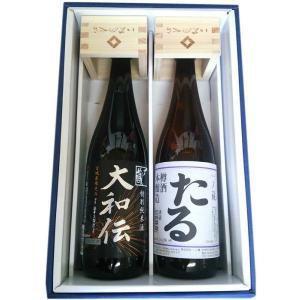 (送料込み) 一ノ蔵 粋に枡酒 セット 特別純米酒 大和伝、本醸造たる酒 720ml×2本 obasaketen