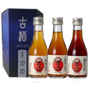 達磨正宗 5年、10年、20年 180ml×3 飲み比べセット(日本酒 岐阜県産地酒)|obasaketen