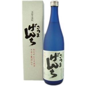 芋焼酎 さつまげんち25度 720ml オガタマ酒造 (鹿児島県産)|obasaketen