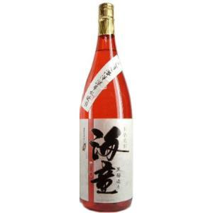 芋焼酎 海童(祝の赤)黒麹仕込 海洋深層水使用 25度 1800ml 濱田酒造 (箱無)|obasaketen