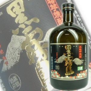 芋焼酎 黒霧島25度 720ml霧島酒造 (宮崎県産)|obasaketen