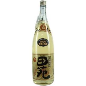 麦焼酎 田苑ゴールド25度1800ml田苑酒造(鹿児島県産)|obasaketen