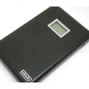 中古 ジャンク品 Infinity インフィニティ モバイルバッテリー 5000mAh LD2-5000B|obatays