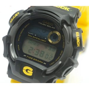中古 良品 CASIO カシオ G-SHOCK Gショック イルクジ メンズ 腕時計 ソーラークォーツ DW-9701K|obatays