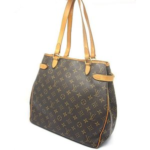 中古 安心価格 Louis Vuitton ルイヴィトン モノグラム トートバッグ バティニョール M51156 LV|obatays