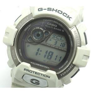 中古 安心価格 CASIO カシオ G-SHOCK Gショック ブリザードホワイト メンズ 腕時計 GW-8900LG|obatays