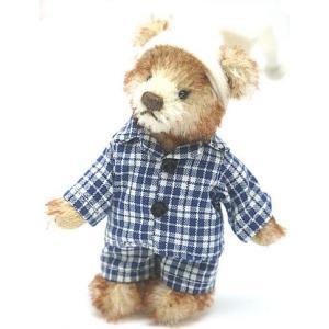 中古 良品 HERMANNハーマン テディベア トミー 11cm クマ 人形|obatays