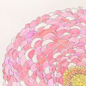 絵画 モダン アートパネル アート インテリア 雑貨 おしゃれ ロココロ 抽象画 花 動物 画家 : ごま 作品 : バラ|obeolysco