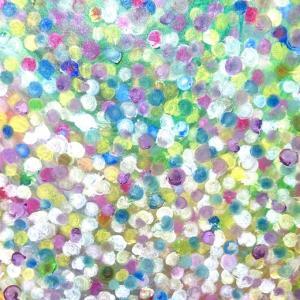 絵画 モダン アートパネル アート インテリア 雑貨 おしゃれ ロココロ 抽象画 画家 : ごま 作品 : ひかり|obeolysco