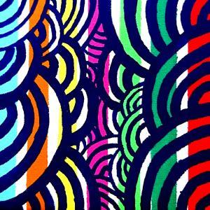 絵画 モダン アートパネル アート インテリア 雑貨 おしゃれ ロココロ 抽象画 画家 : ごま 作品 : なつまつり|obeolysco