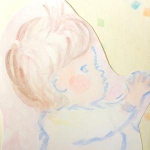 絵画 インテリア 雑貨 おしゃれ ロココロ 画家 : あゆみそう 作品 : やわらか赤ちゃん|obeolysco