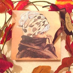 絵画 モダン アートパネル アート インテリア 雑貨 おしゃれ ロココロ 現代アート 人物画 画家 : 近藤 真喜子 作品 : k-2|obeolysco