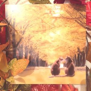 絵画 モダン アートパネル アート インテリア 雑貨 おしゃれ ロココロ 猫 ネコ ねこ 動物 アニマル 画家 : rune 作品 : 並木通りの猫達|obeolysco