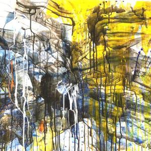 絵画 モダン アートパネル アート インテリア 雑貨 おしゃれ ロココロ 抽象画 画家 : tamajapan 作品 : t-23|obeolysco