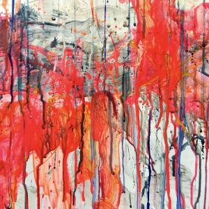 絵画 モダン アートパネル アート インテリア 雑貨 おしゃれ ロココロ 抽象画 画家 : tamajapan 作品 : t-25|obeolysco
