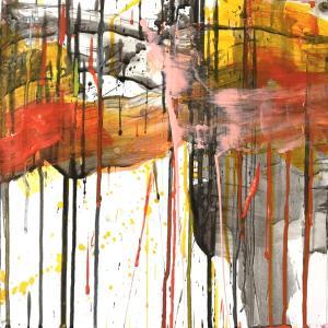 絵画 モダン アートパネル アート インテリア 雑貨 おしゃれ ロココロ 抽象画 画家 : tamajapan 作品 : t-26|obeolysco