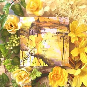 絵画 モダン アートパネル アート インテリア 雑貨 おしゃれ ロココロ 抽象画 画家 : tamajapan 作品 : t-28|obeolysco