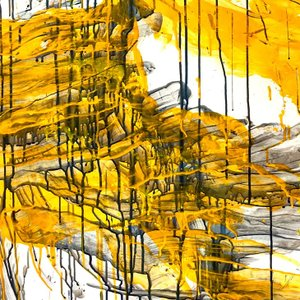 絵画 モダン アートパネル アート インテリア 雑貨 おしゃれ ロココロ 抽象画 画家 : tamajapan 作品 : t-29|obeolysco
