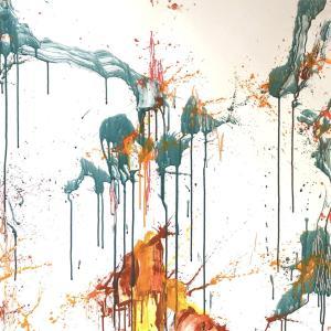 絵画 モダン アートパネル アート インテリア 雑貨 おしゃれ ロココロ 抽象画 画家 : tamajapan 作品 : t-31|obeolysco