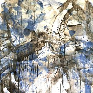 絵画 モダン アートパネル アート インテリア 雑貨 おしゃれ ロココロ 抽象画 画家 : tamajapan 作品 : t-35|obeolysco
