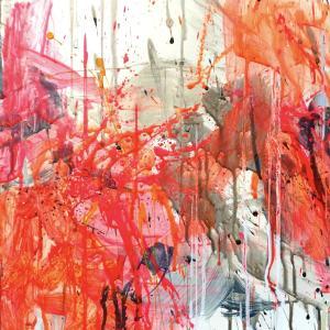 絵画 モダン アートパネル アート インテリア 雑貨 おしゃれ ロココロ 抽象画 画家 : tamajapan 作品 : t-36|obeolysco