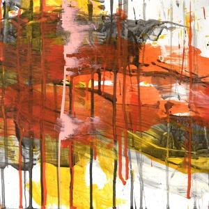 絵画 モダン アートパネル アート インテリア 雑貨 おしゃれ ロココロ 抽象画 画家 : tamajapan 作品 : t-37|obeolysco