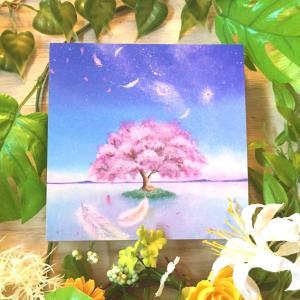 絵画 モダン アートパネル アート インテリア 雑貨 おしゃれ ロココロ 現代アート 桜 sakura さくら サクラ 画家 : Rin 作品 : かぜの詩|obeolysco