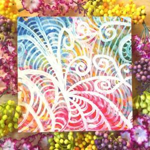 絵画 モダン アートパネル アート インテリア 雑貨 おしゃれ ロココロ 抽象画 画家 : ごま 作品 : うごめき|obeolysco