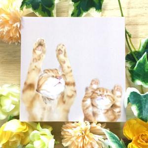 絵画 モダン アートパネル アート インテリア 雑貨 おしゃれ ロココロ 猫 ネコ ねこ 動物 アニマル 画家 : rune 作品 : BANZAI|obeolysco
