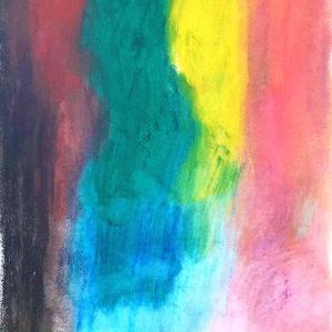 絵画 モダン アートパネル アート インテリア 雑貨 おしゃれ ロココロ 抽象画 現代アート  画家 : Mitsuo Ito 作品 : 雨のち晴れ|obeolysco