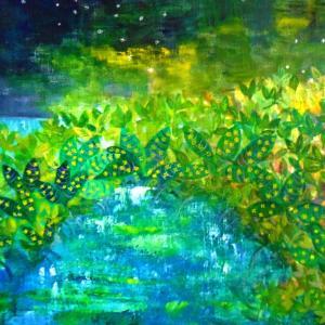 絵画 モダン アートパネル アート インテリア 雑貨 おしゃれ ロココロ イラスト 絵 現代アート 画家 : なったこ  作品 : n-2|obeolysco